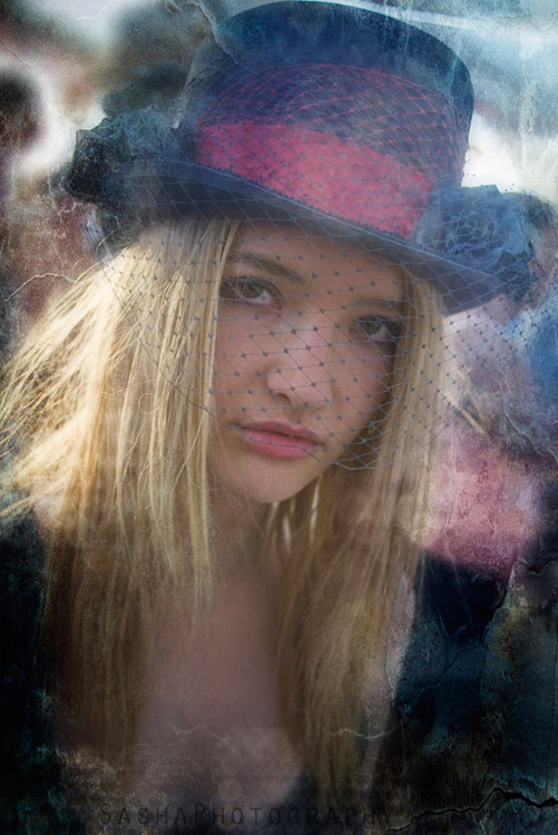 Beatiful, mysterious girl photographed at Center Camp.