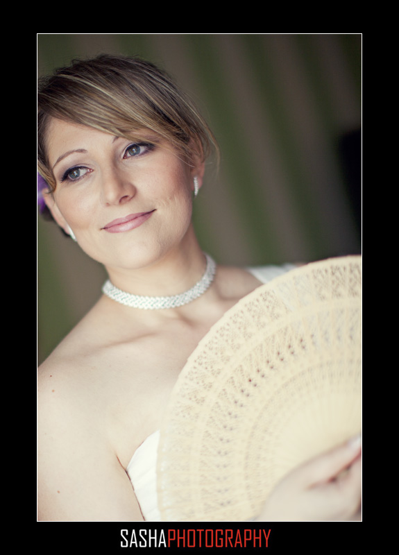 bride at sir francis drake hotel