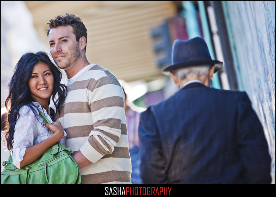 chinatown san francisco engagement session