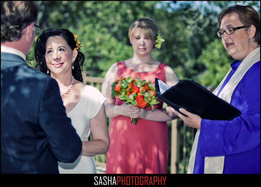 mountain winery wedding ceremony photo