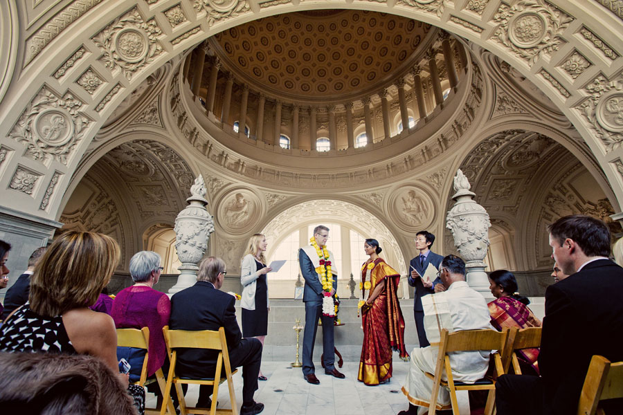 indian wedding san francisco city hall