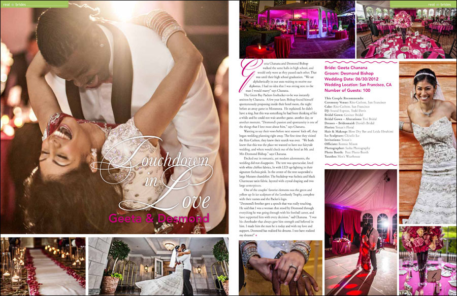 beautiful bride magazine desmond bishop geeta chanana