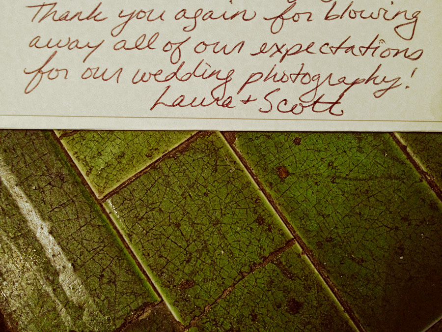 laura scott thank you note