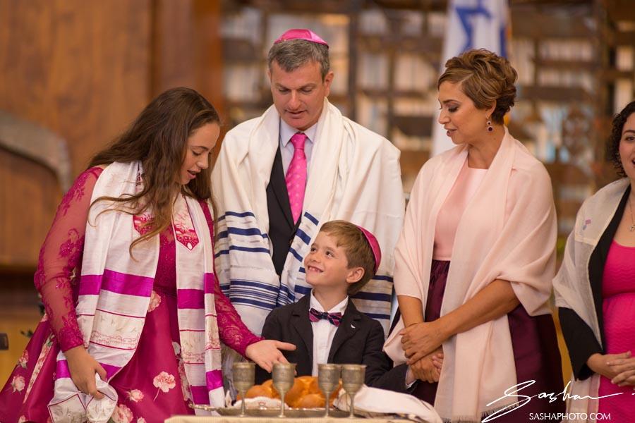 bat mitzvah family