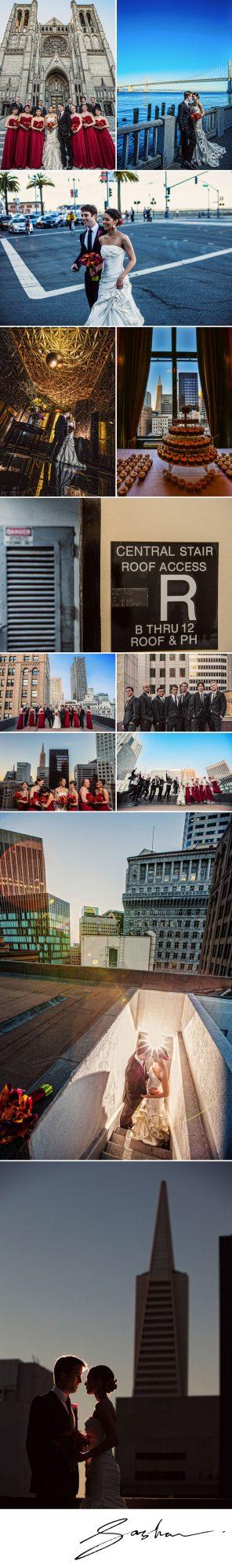 city club wedding reception