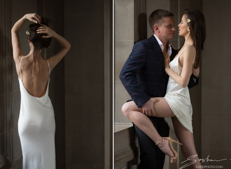 bride silk dress city hall