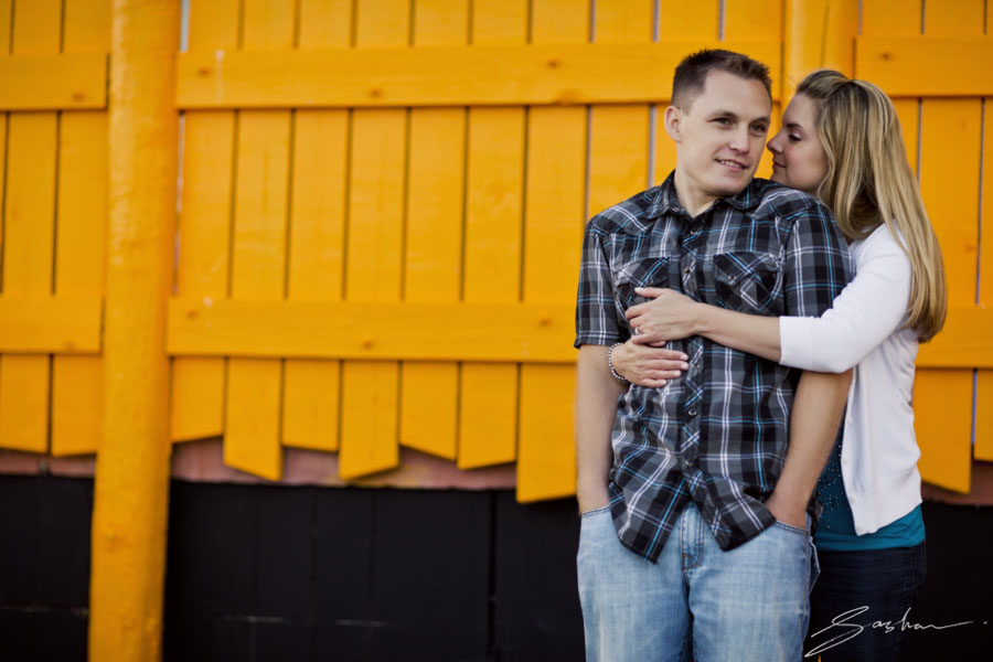 engagement session beach boardwalk