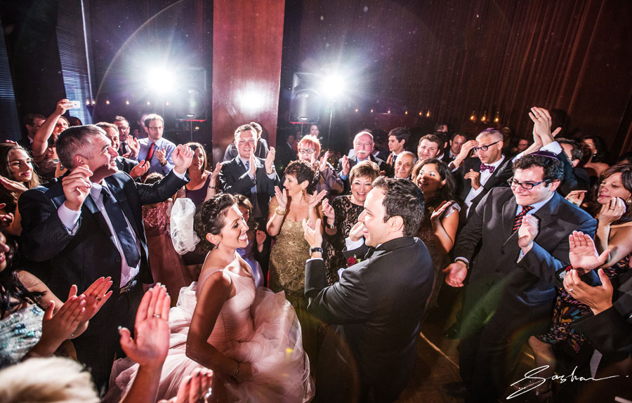 wedding dancing clift hotel