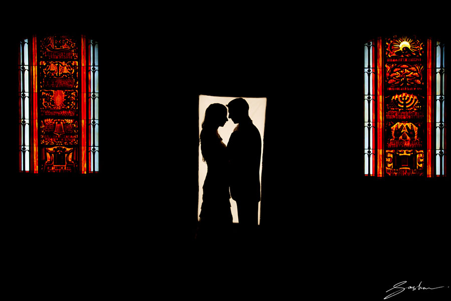 stained-glass-wedding-photo
