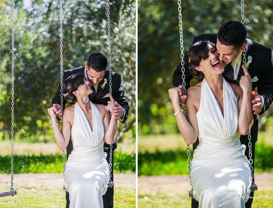 campovida bride groom swing