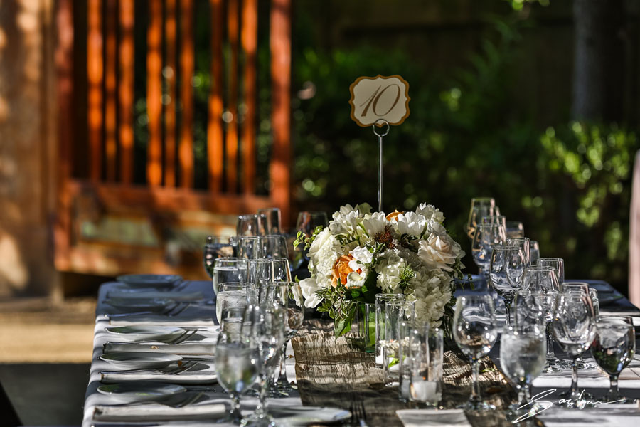 campovida wedding decor