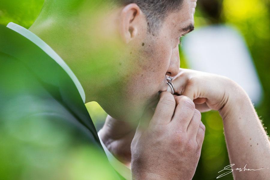 campovida ceremony closeup ring