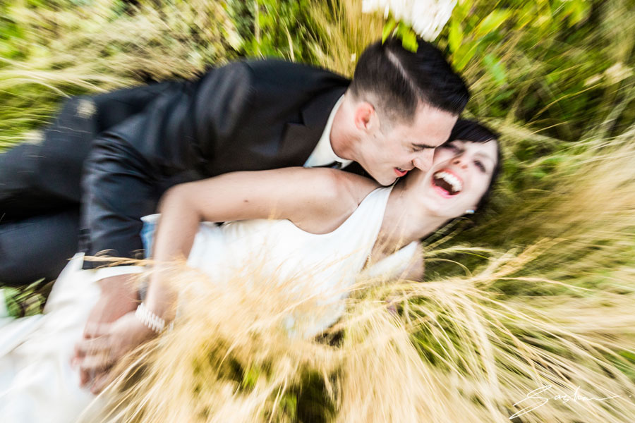 campovida wedding photo grass