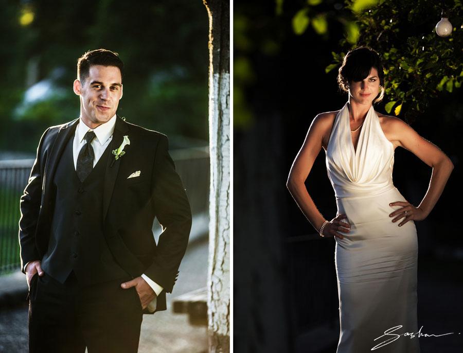 campovida sunset portraits bride groom