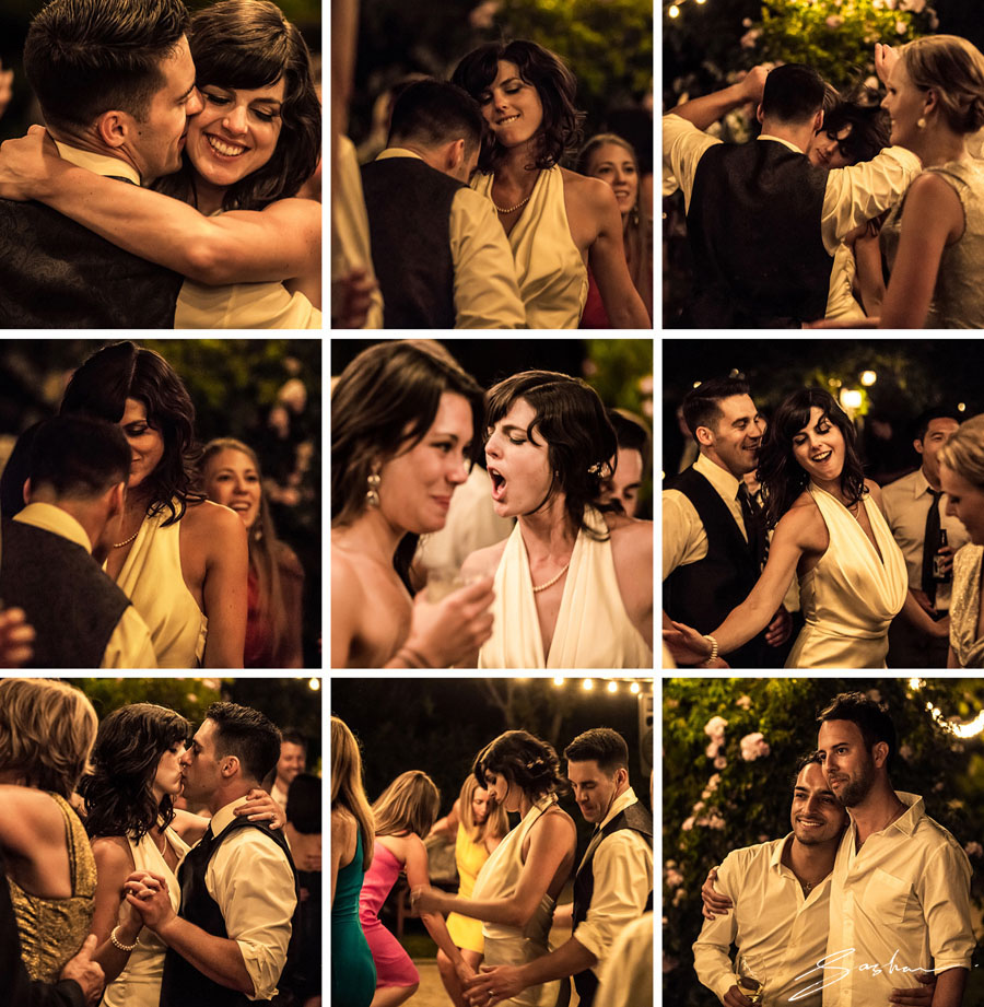 campovida dance collage bride groom