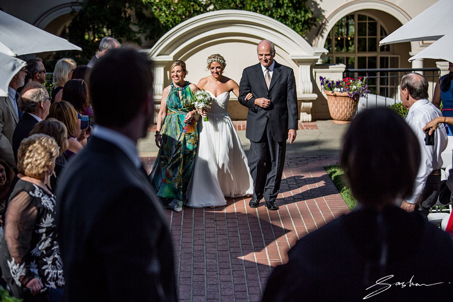 villa montalvo wedding ceremony