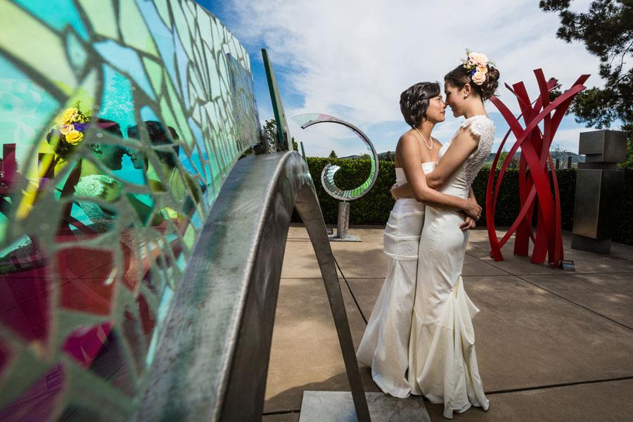 cornerstone sonoma bridal portrait
