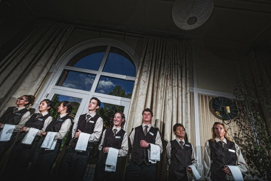 hotel jerome ballroom staff