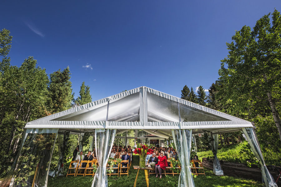 aspen destination wedding ceremony