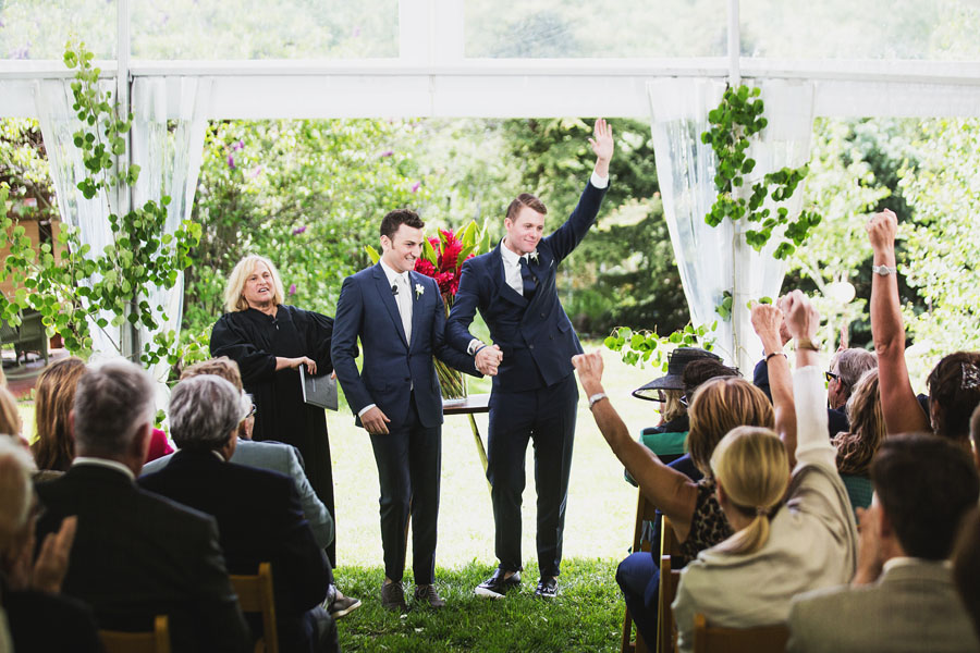 aspen same sex wedding ceremony