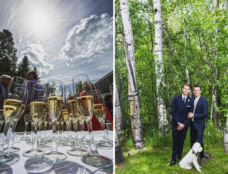 aspen same sex wedding