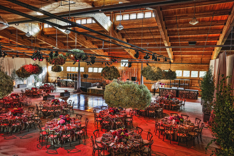 aspen chaparral wedding reception