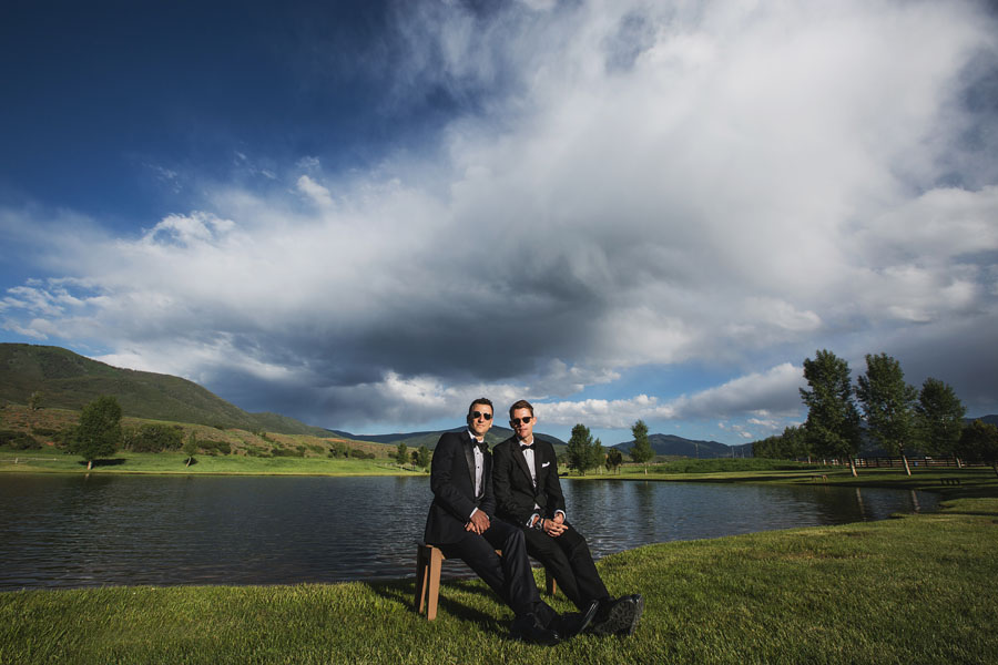 aspen chaparral same sex wedding