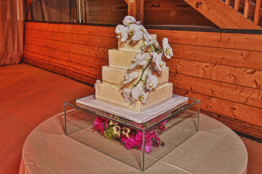 aspen wedding cake