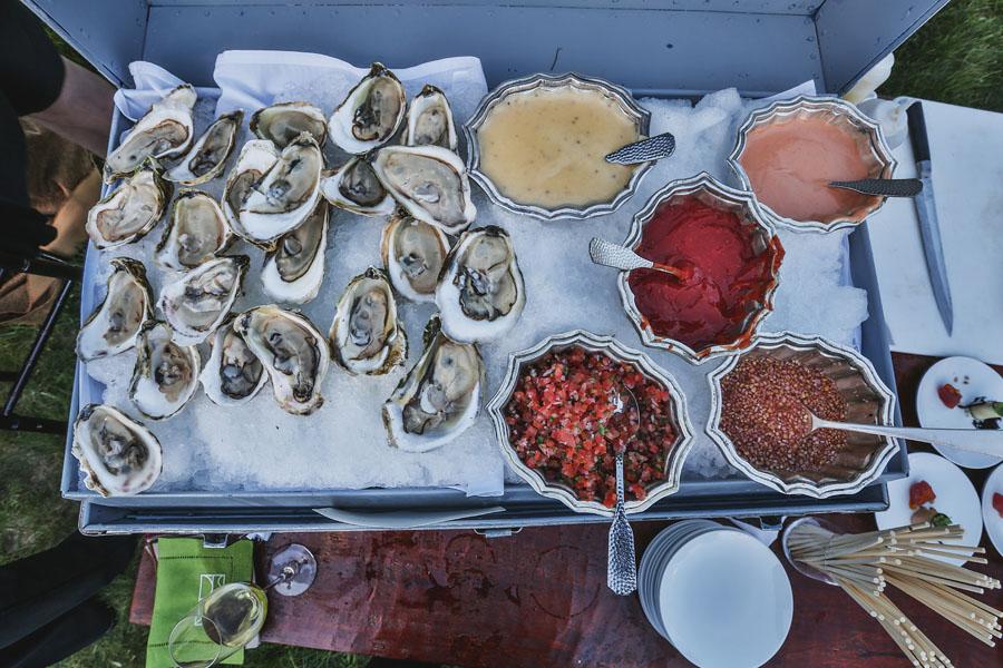 oysters wedding