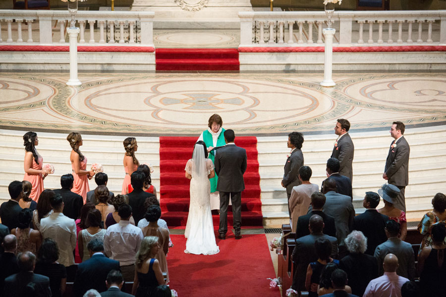 wedding ceremony stanford memorial church