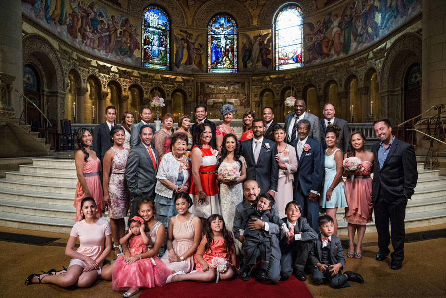 family photo stanford memorial church
