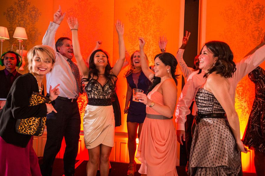 guests dancing rosewood sandhill
