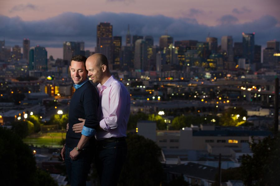 gay engagement pictures sf