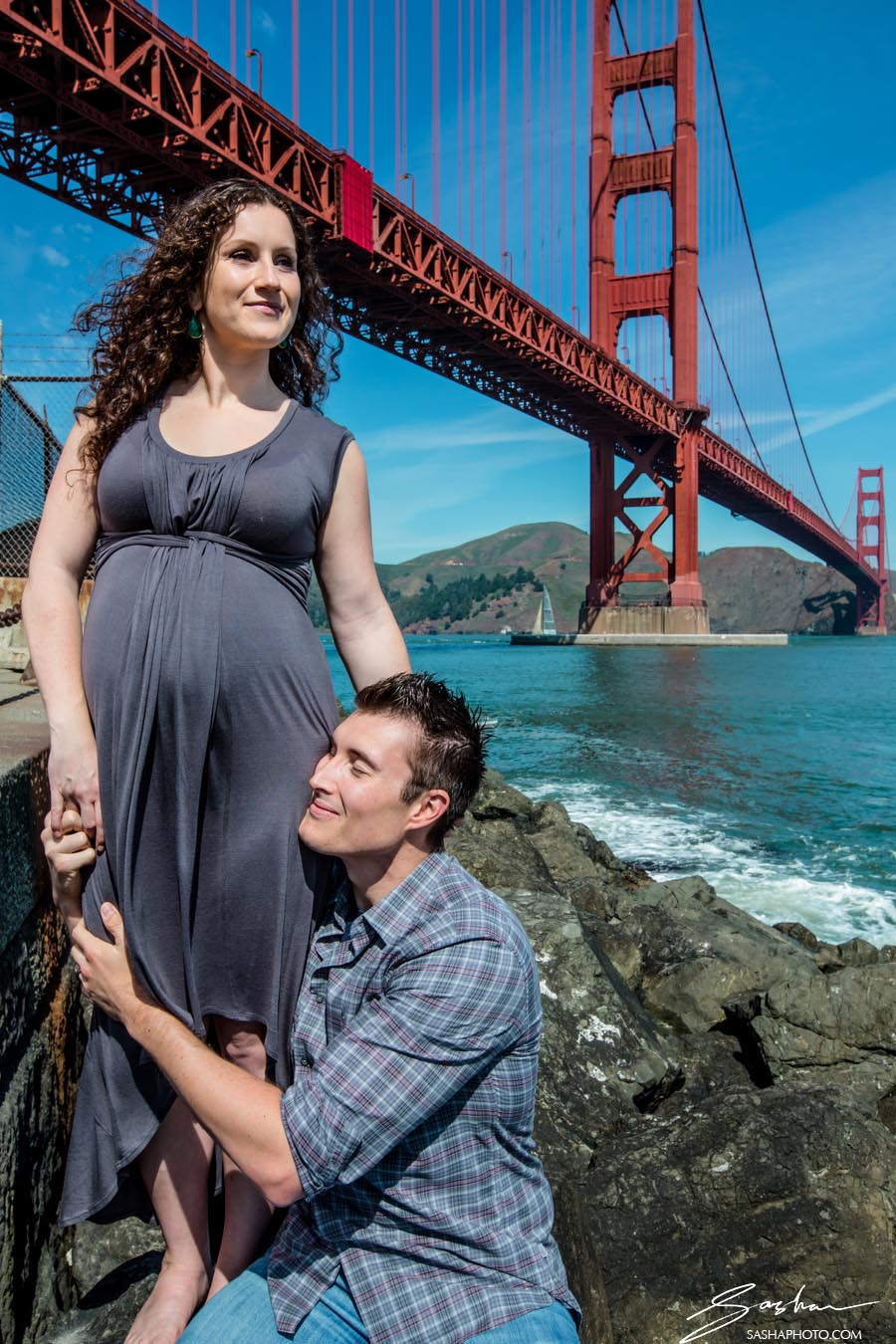 maternity golden gate bridge