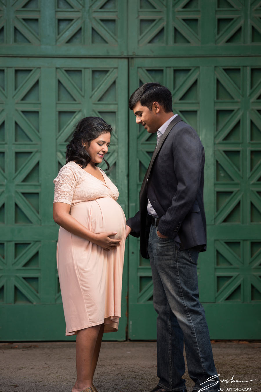 palace of fine arts maternity session