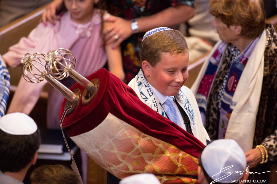 bar mitzvah boy torah