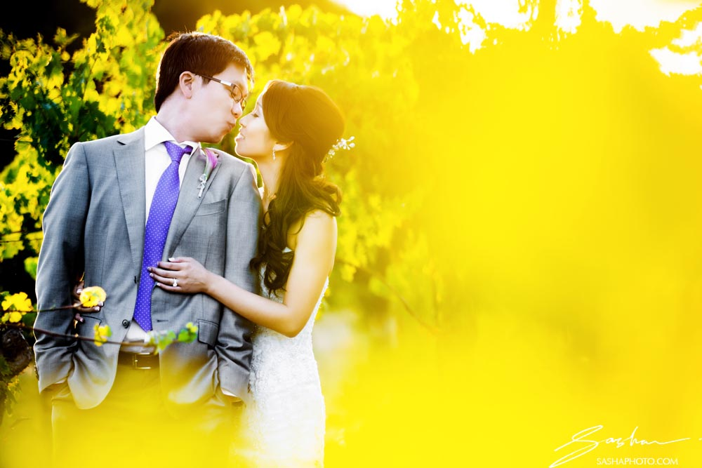 creative couple wedding photo