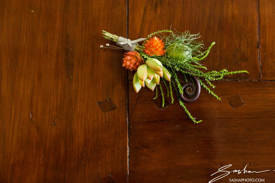pat friday flowers boutonniere