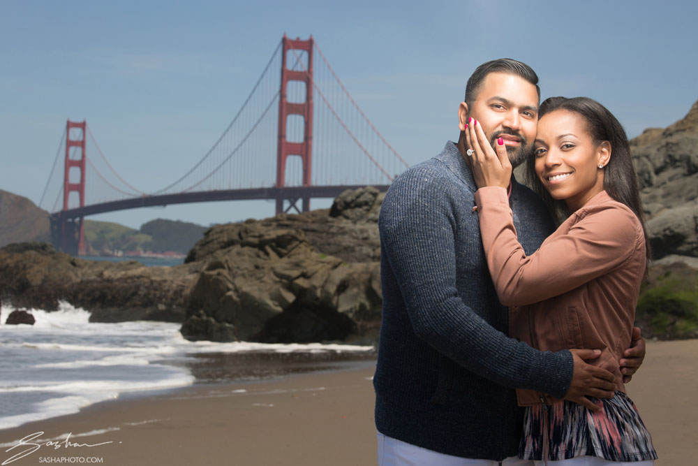 baker beach proposal engagement