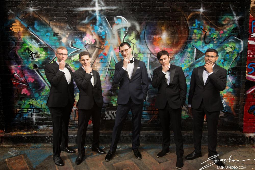 groomsmen graffiti