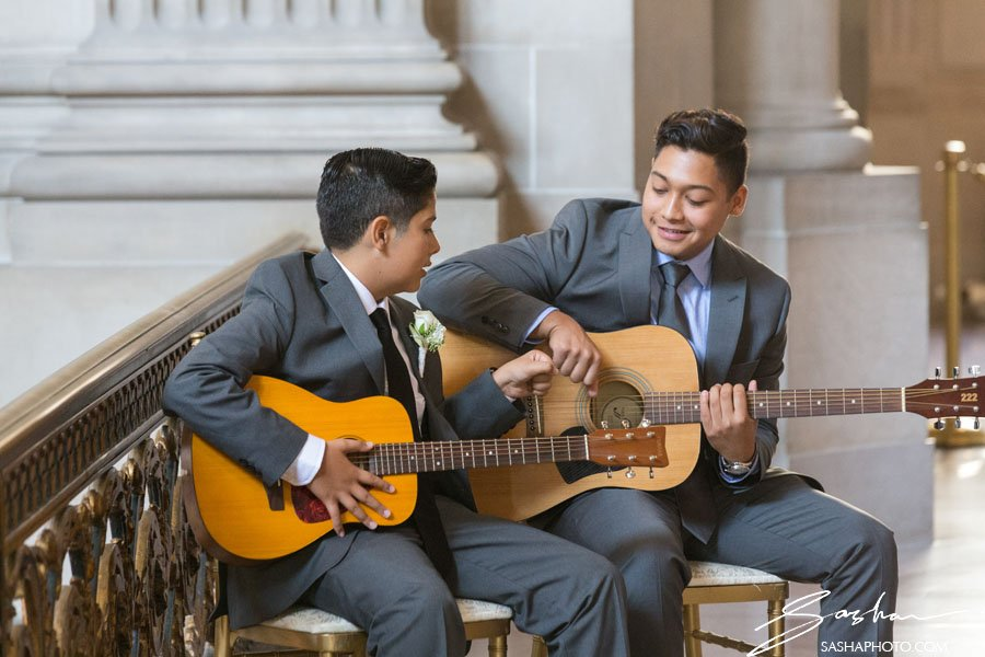 san francisco city hall wedding musician