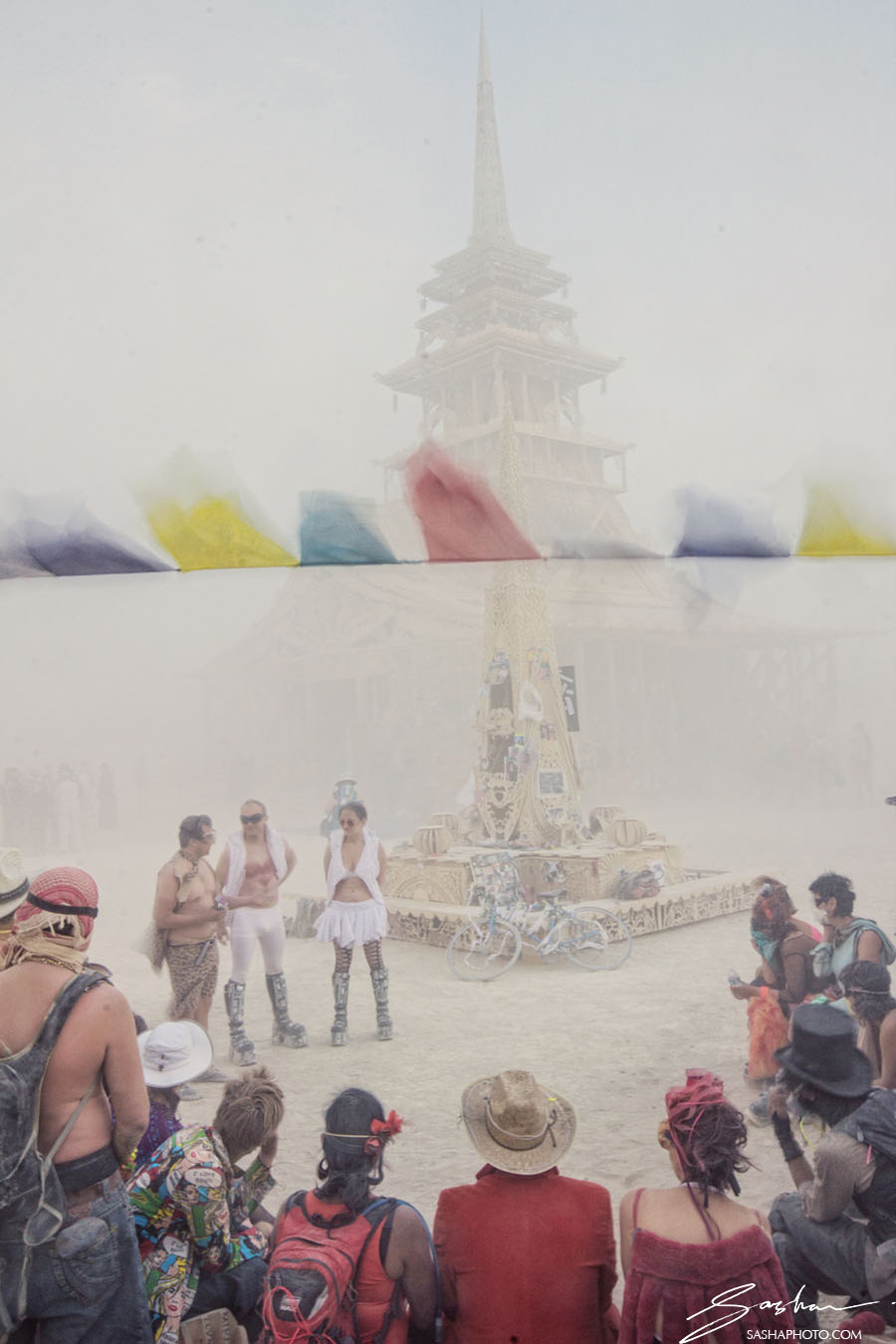 burning man temple wedding