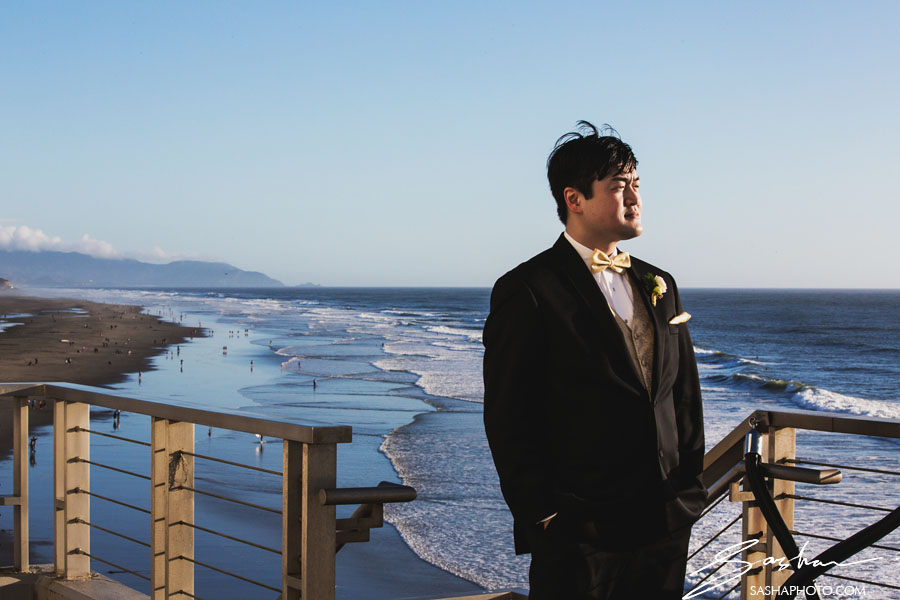 cliff house wedding