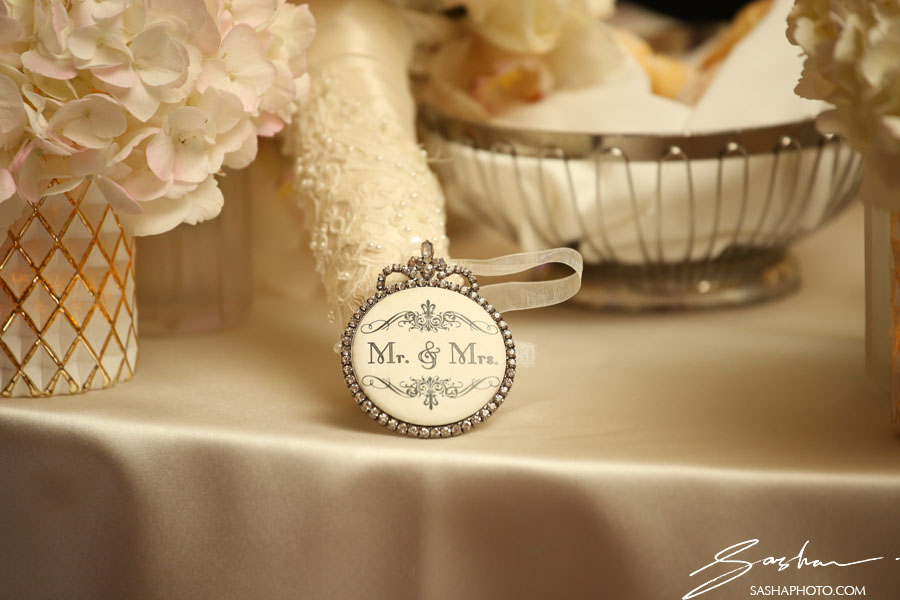 sweetheart table detail