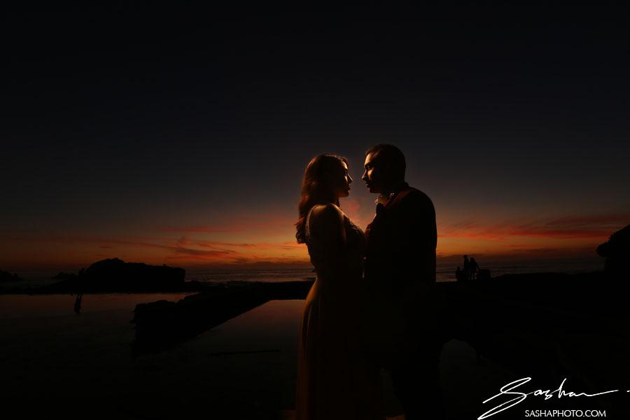 pre wedding session lands end