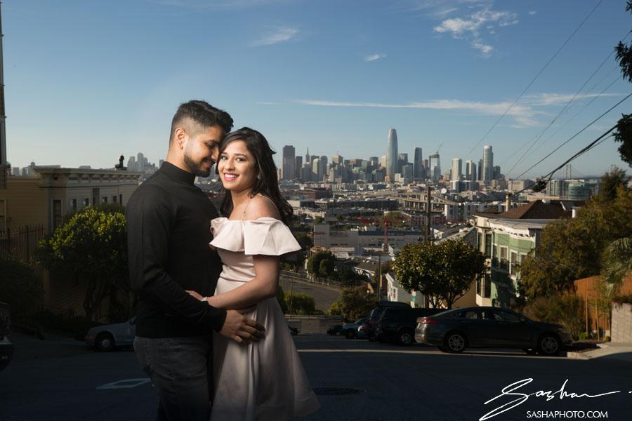 pre wedding session potrero hill