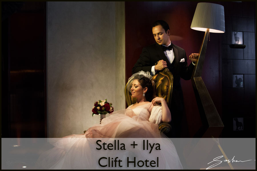 clift hotel wedding