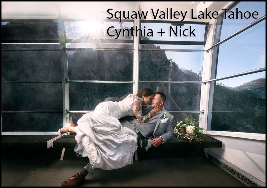 squaw valley lake tahoe wedding