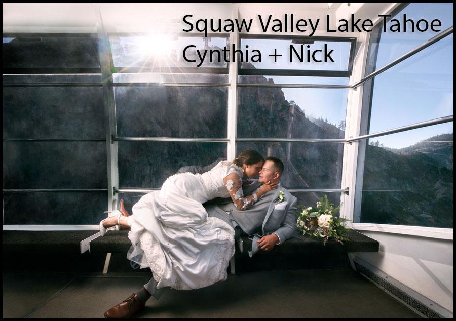 squaw valley lake tahoe wedding