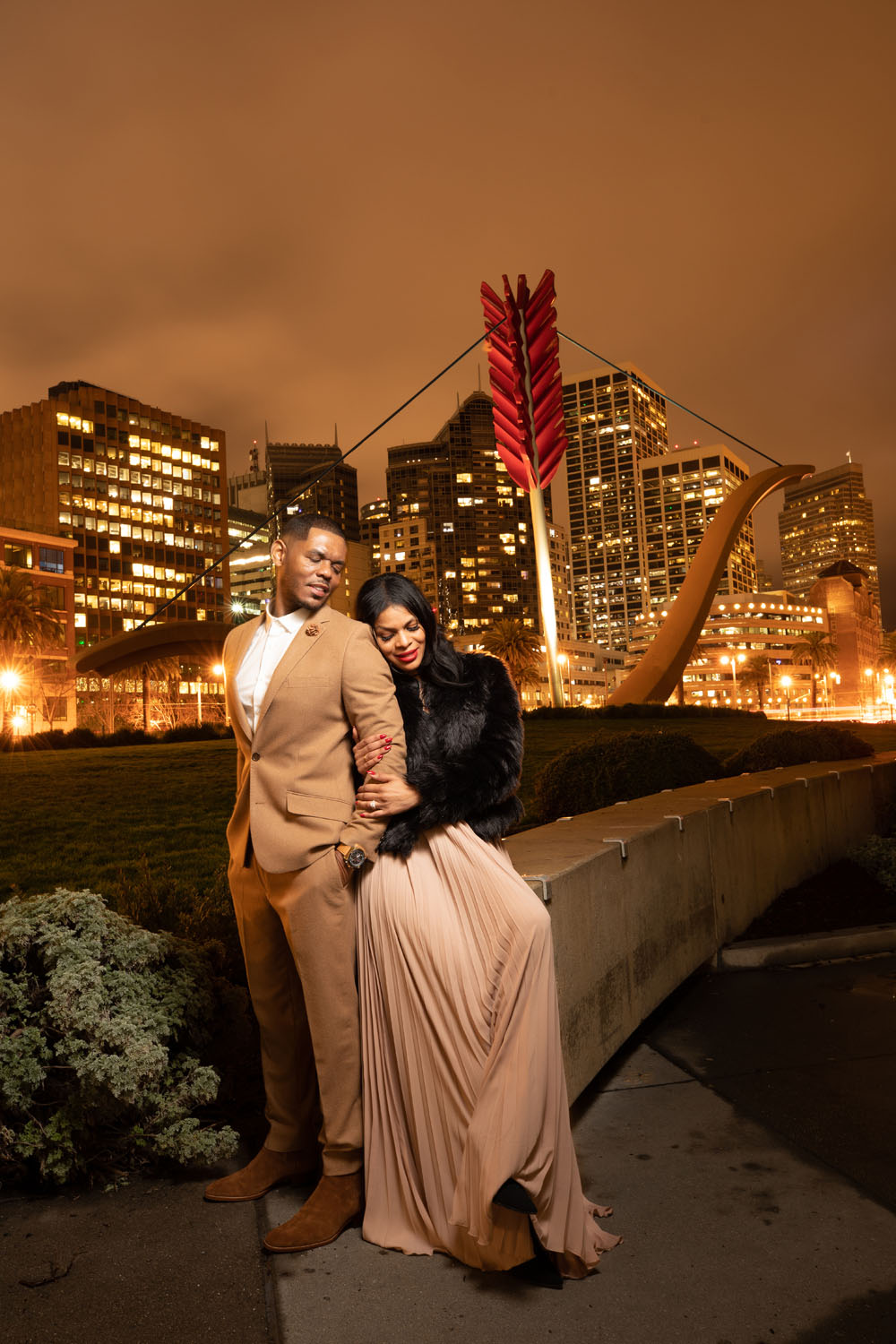 cupid's span engagement session